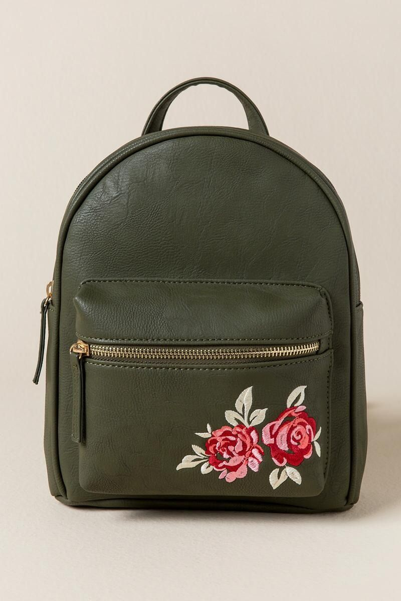 910af26ba8 Brooke Rose Embroidered Backpack