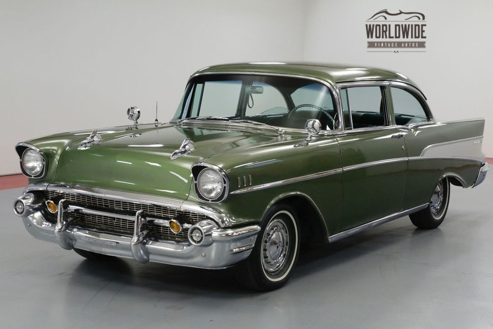 Ebay Chevrolet Bel Air Two Owner Restored 350v8 Th350 Automatic Call 1 877 422 2940 Financing Wor Chevrolet Bel Air 57 Chevy Bel Air Chevrolet