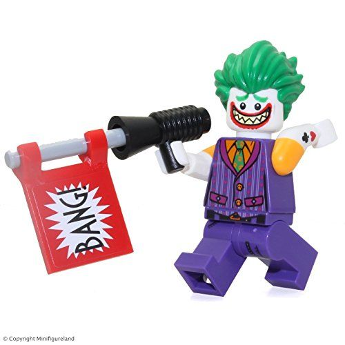 The Lego Batman Movie Minifigure The Joker Sleeveless W Tattoos Find Out More About The Great Product At The Lego Batman Movie Lego Batman Lego Figures