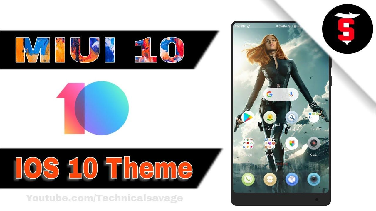 Best ios 10 theme for miui 10 | Technical Savage | Technical Hero