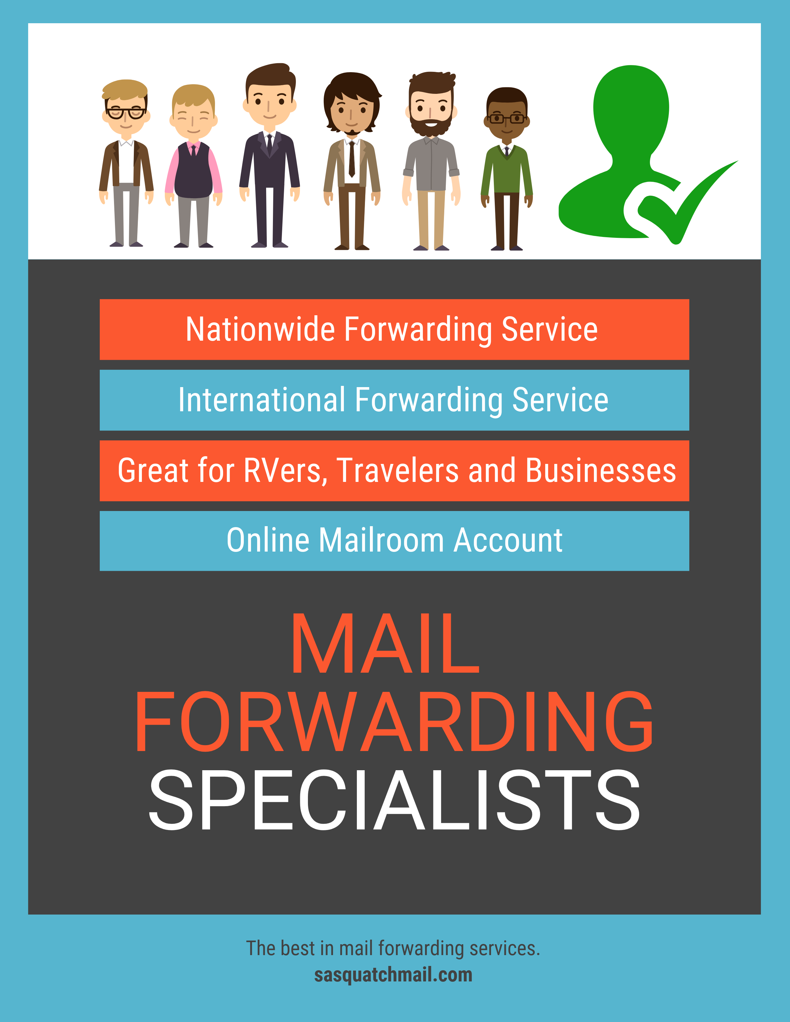 Mail Forwarding Specialists | Sasquatch Finds | Mail storage