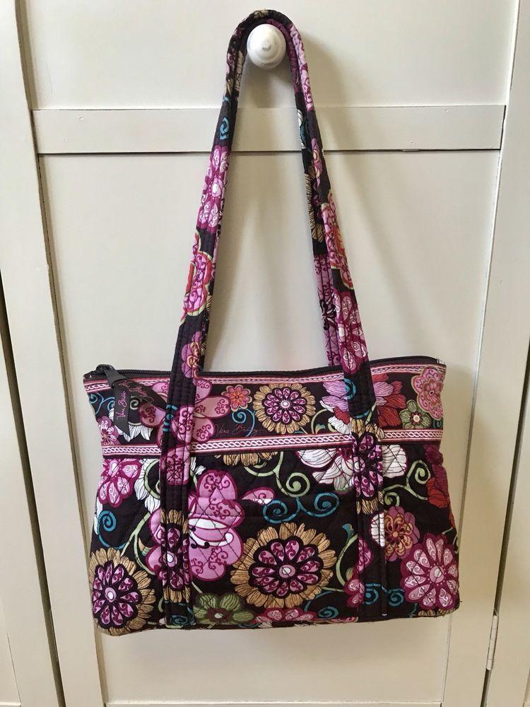 Vera Bradley Mod Floral Pink Shoulder Bag Handbag Purse Retired Pattern  NWOT! 2a8123fa89156