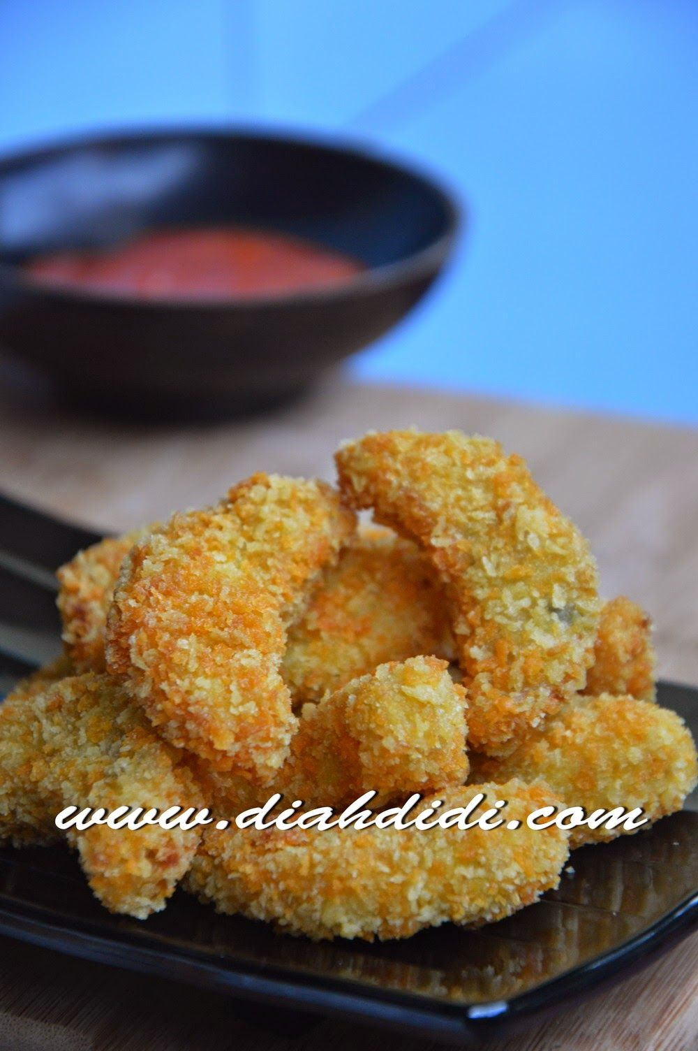 Nugget Ayam Wortel Resep Masakan Makanan Dan Minuman Makanan