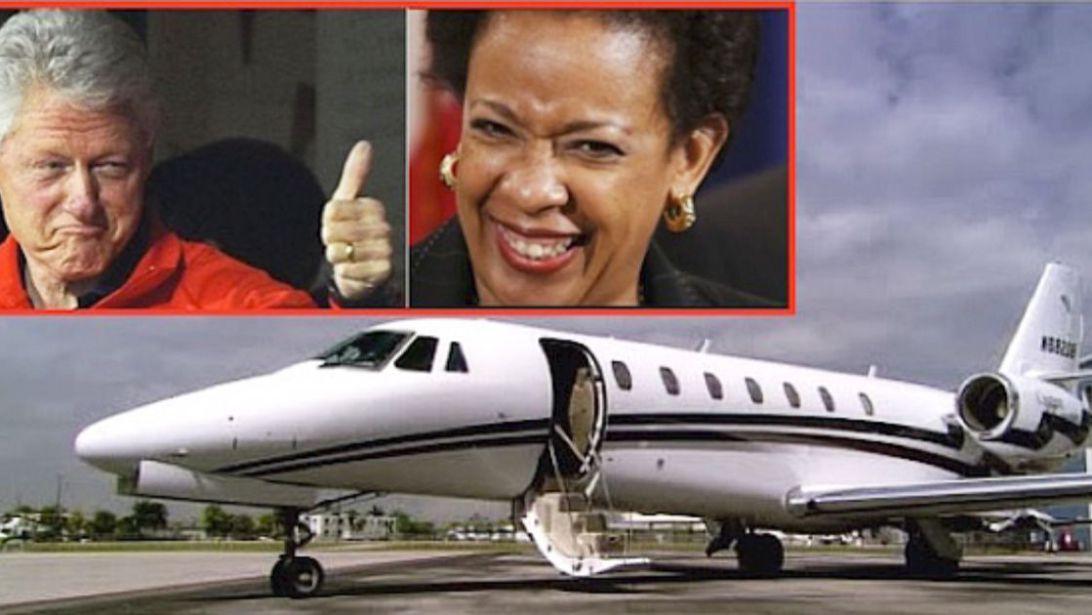 Image result for bill clinton loretta lynch plane talk