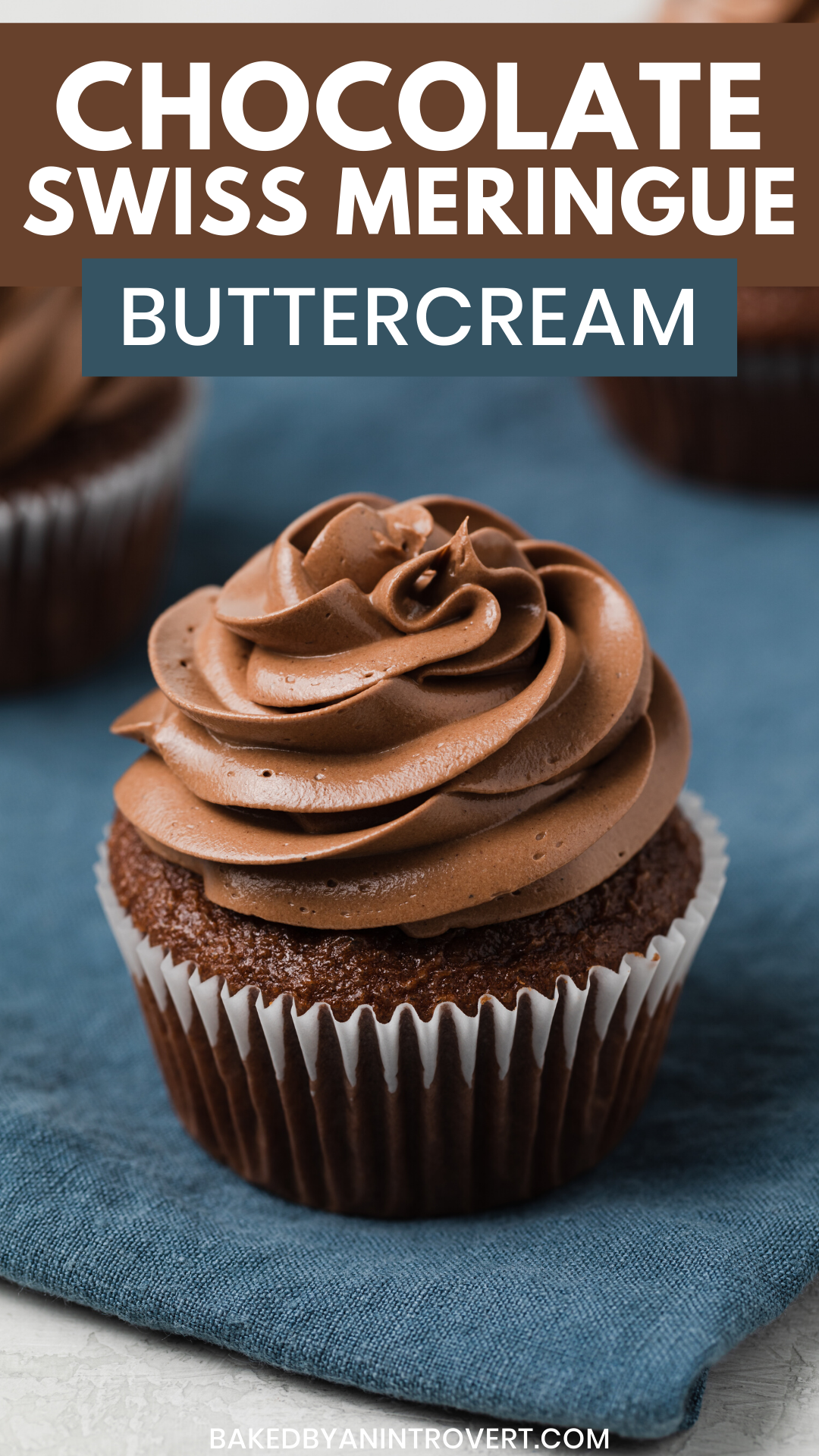 Chocolate Swiss Meringue Buttercream