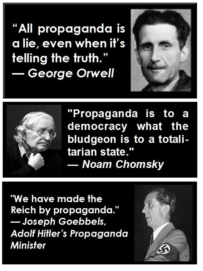 Propaganda Quotes Google Search War Quotes Insightful