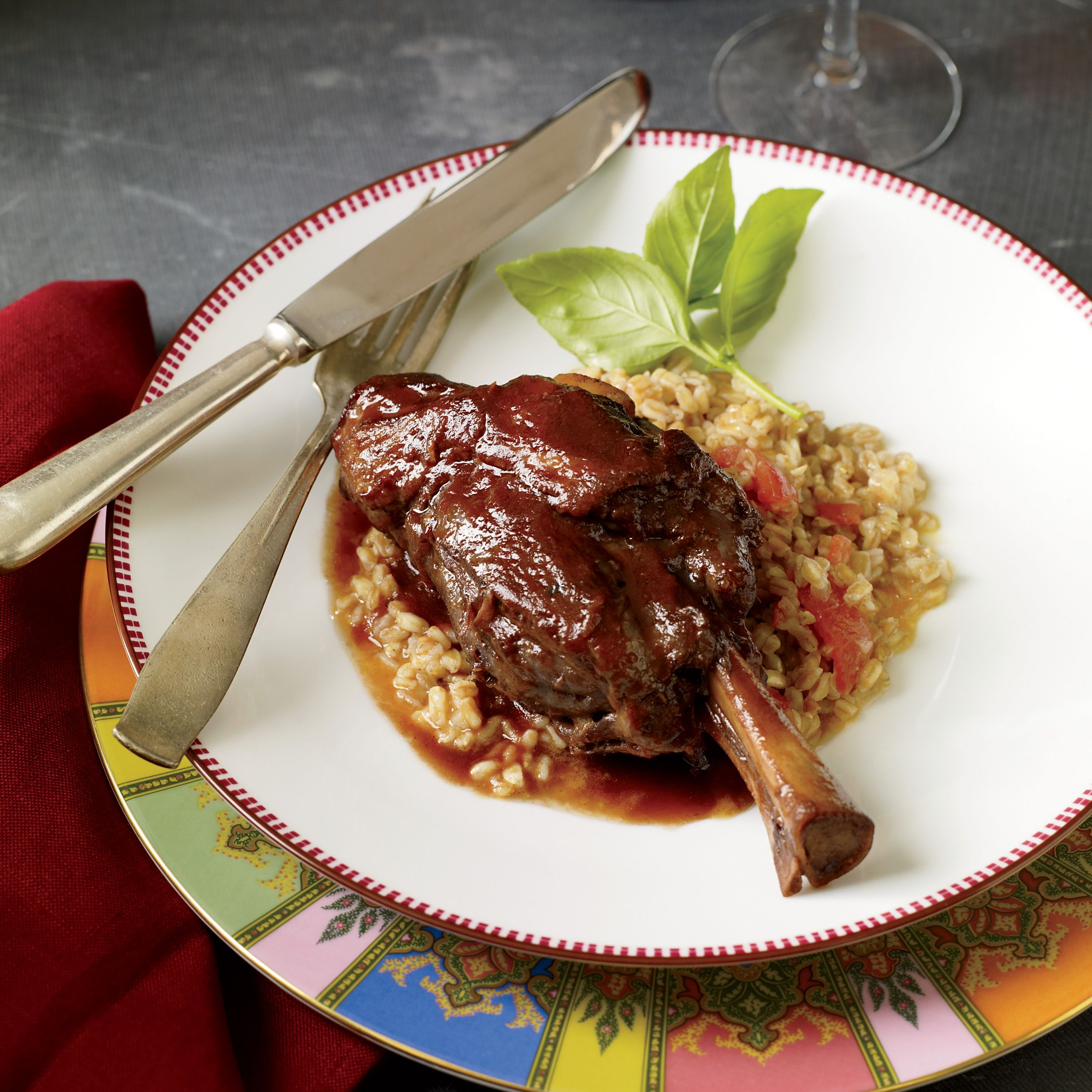 Check out braised lamb shanks with garlic and indian spices its so braised lamb shanks with garlic and indian spices forumfinder Gallery