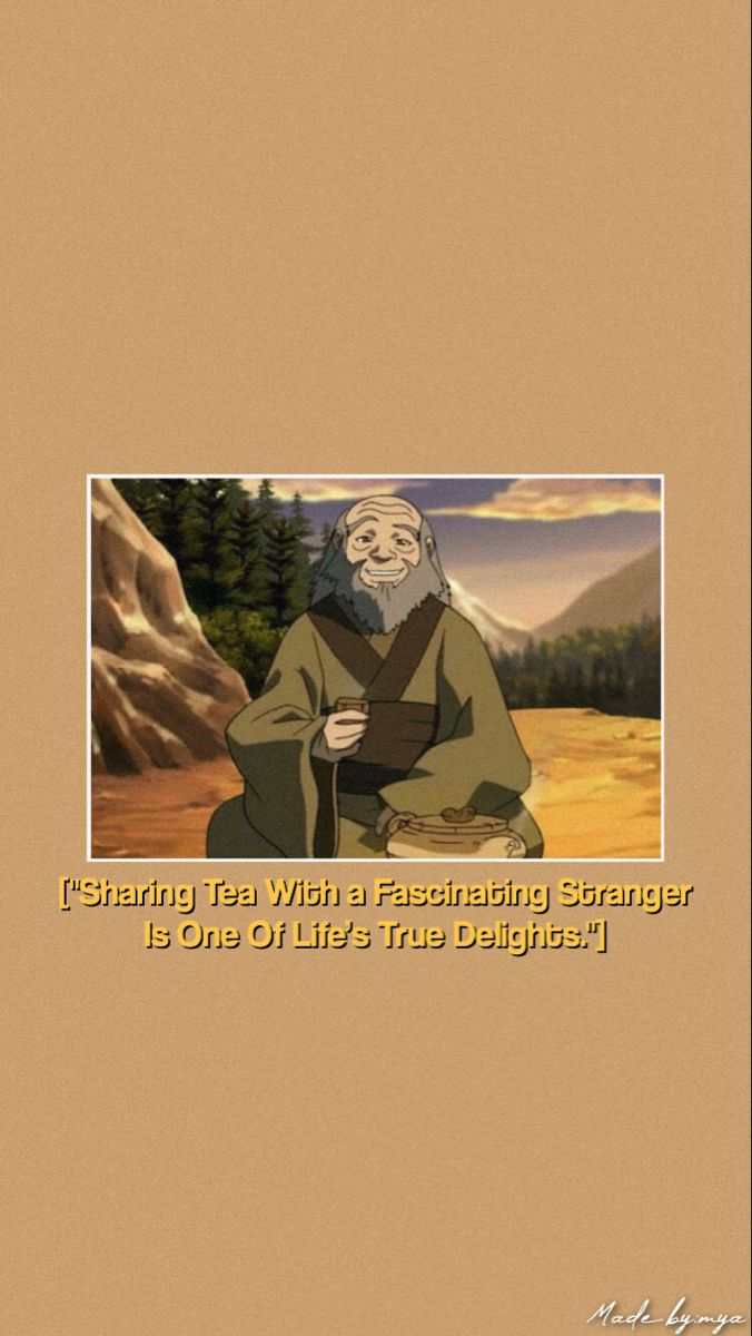 Iroh Wallpaper Tap On Photo Avatar Cartoon Avatar Funny The Last Avatar