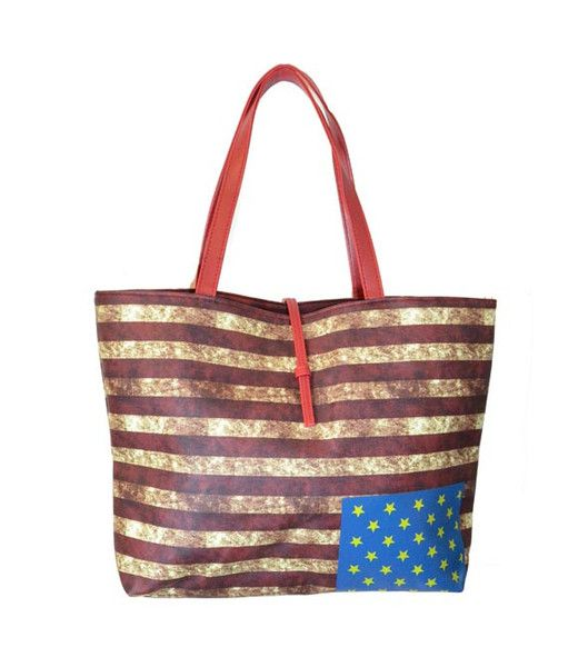 U.S FLAG SHOULDER BAG