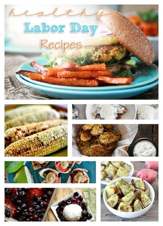 Summer Send Off: Healthy Labor Day Recipes #labordayfoodideas