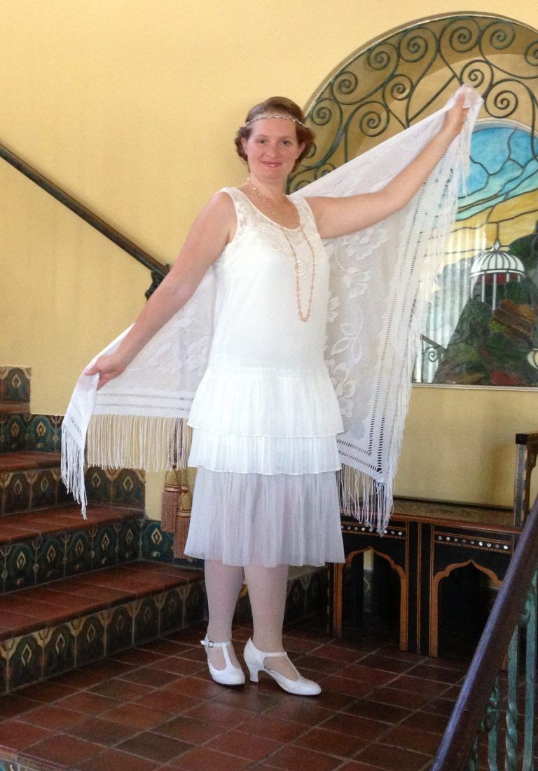 10 Easy 1920s Outfits For Women Flapper Dresses Diy Roaring 20s Party Dress Flapper Dress Pattern [ 1099 x 768 Pixel ]