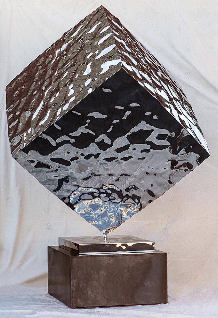 Furniture Collection With Mirror Polished Stainless Steel Stainless Steel Sheet Steel Sculpture Metal Products
