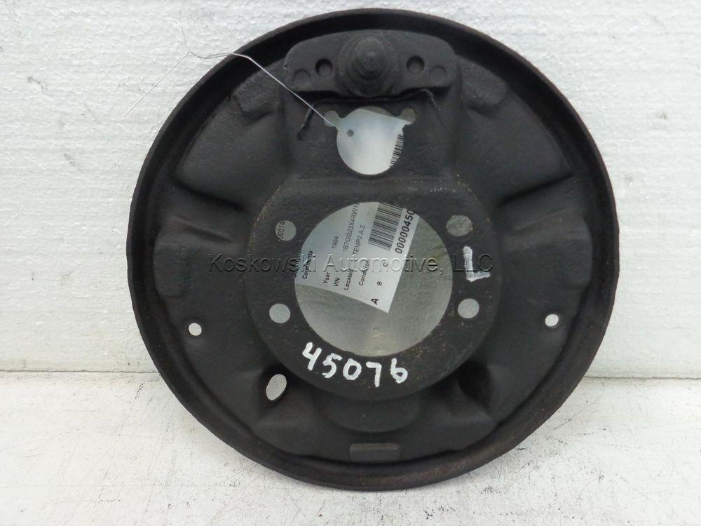 Dodge Dakota Backing Plate Left Driver Side 87 88 89 90 91