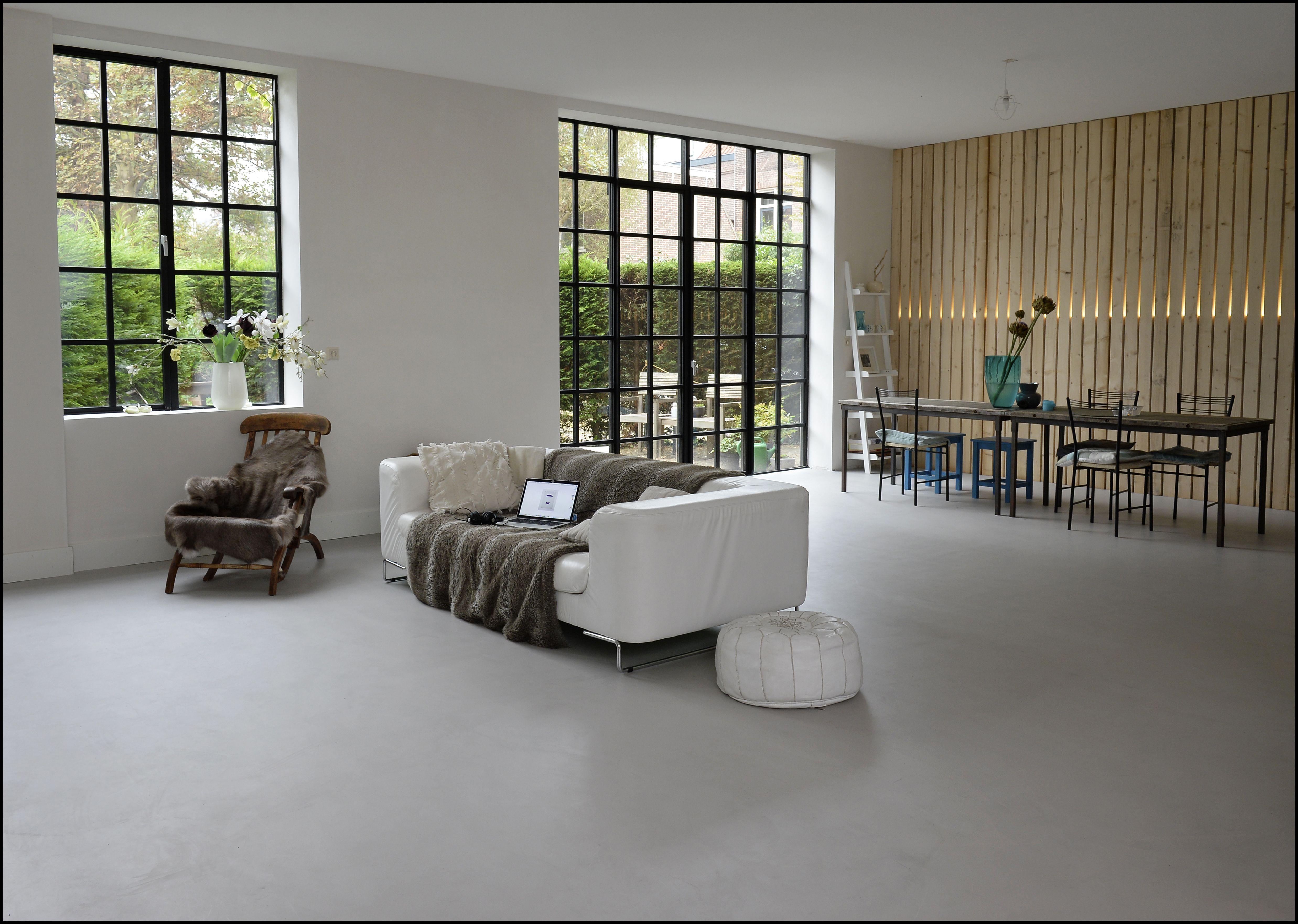 eurocol betondesign concrete living room beton look