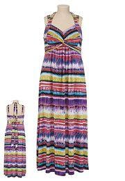 Striped Ombre Maxi Dress - maurices.com