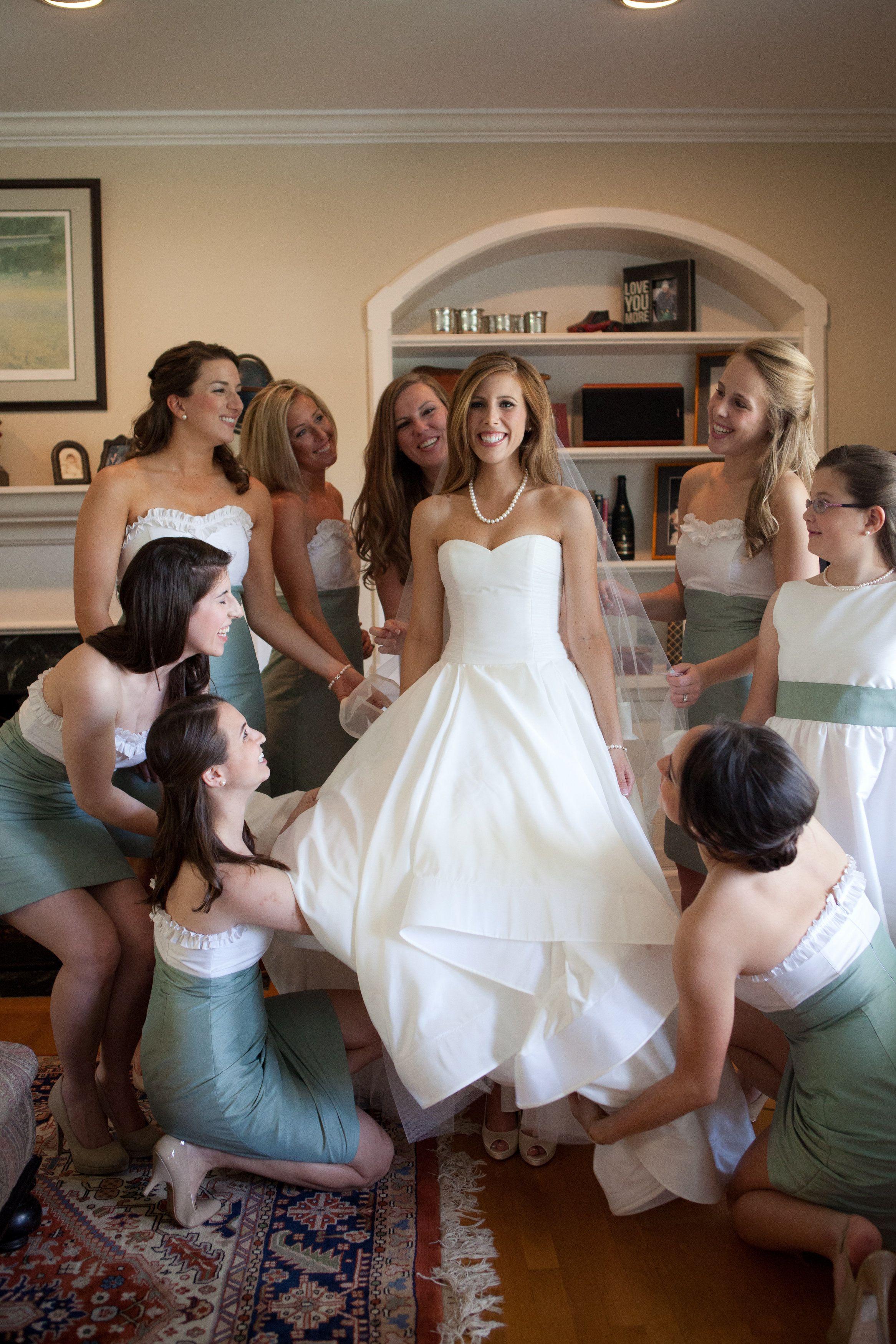 Nautical Annapolis Spring Wedding Wedding Bridesmaid Wedding Dresses