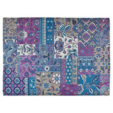 tappeto cotone patchwork € 99,99 Zara Home Tappeti, Zara
