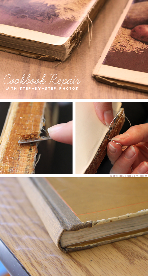 Breathing new life into a favorite old book by repairing