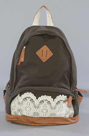 I'd go back to school just to get a backpack like this!!!