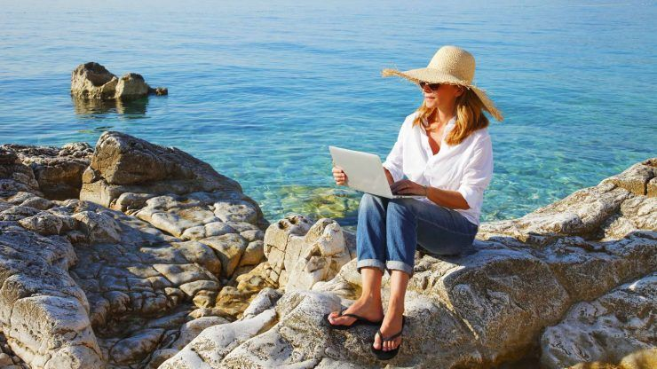 Live and work anywhere in the world with an internet connection. Be a Digital Nomad. SixtyandMe.com
