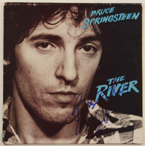 "Bruce Springsteen Signed ""The River"" Album"