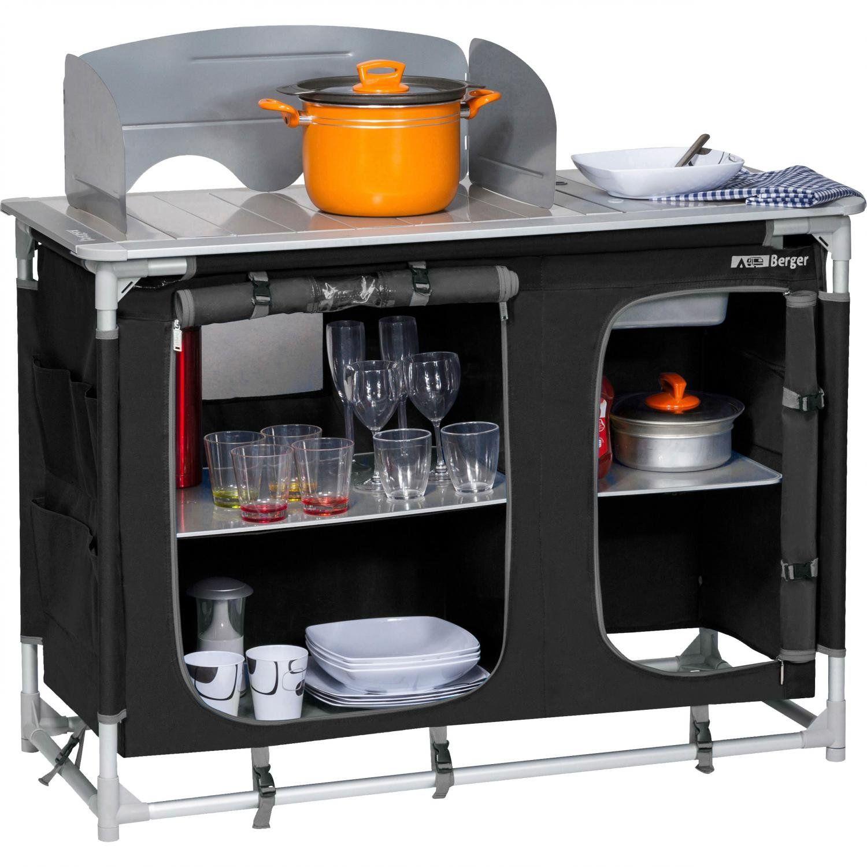 Berger Campingküche mit Spüle | 04036231045141
