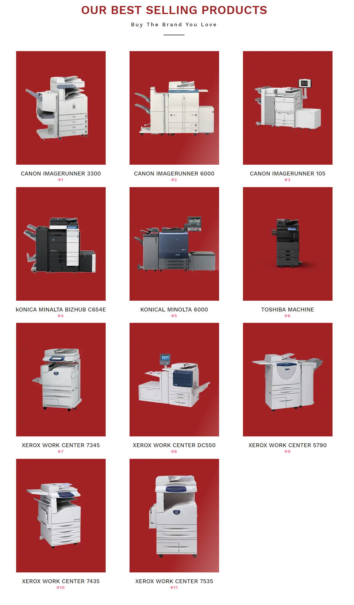 Lakshmi Copier Solutions Have All The Top Brand Xerox Machines For