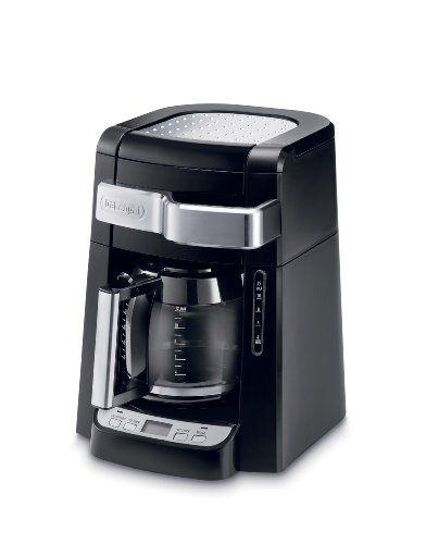 DeLonghi DCF2212T 12-Cup Glass Carafe Drip Coffee Maker, Black $47.99