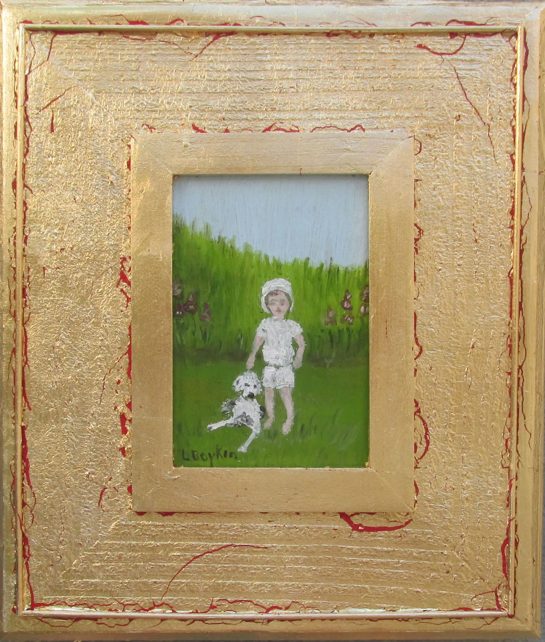 Best Friends An Oil Painting By L Boykin Painting Oil Painting Art
