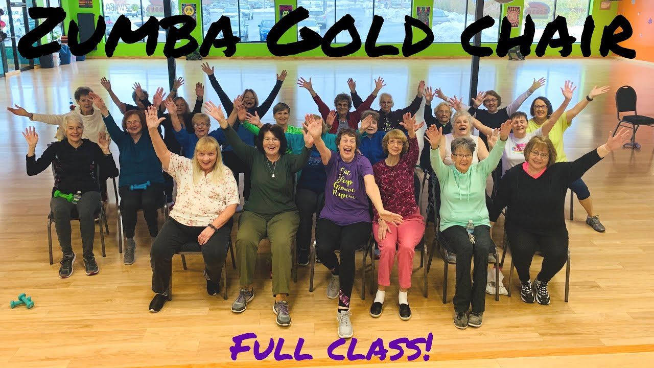 45 Min Full Class Zumba Gold Chair Zumba Exercise Images Mother Books