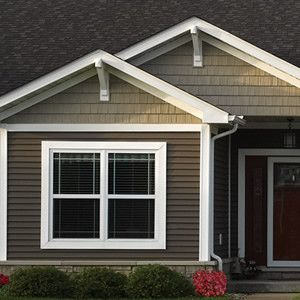 Grand Rapids Roofing Siding Options In Holland Lakeshore And Gr Exterior Paint Colors For House House Siding Siding Colors For Houses