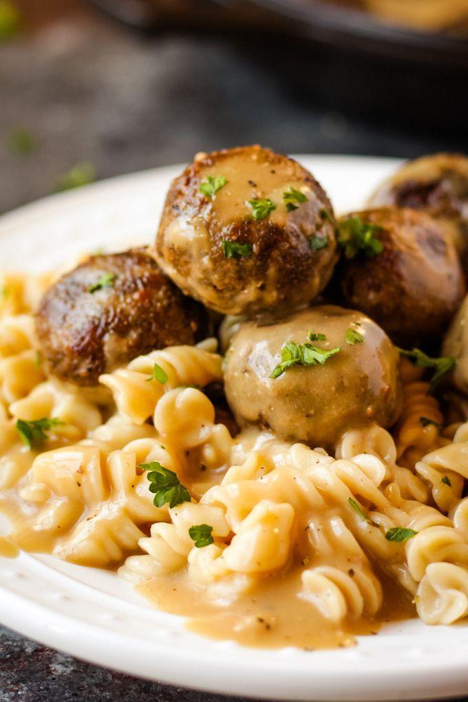 Vegan Swedish Meatballs