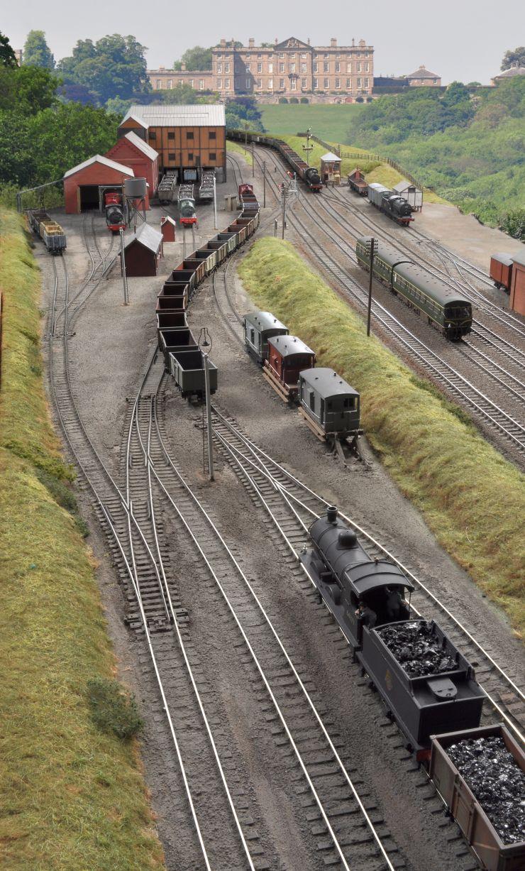 Ackthorpe | RailRoad | N scale model trains, Train, Model