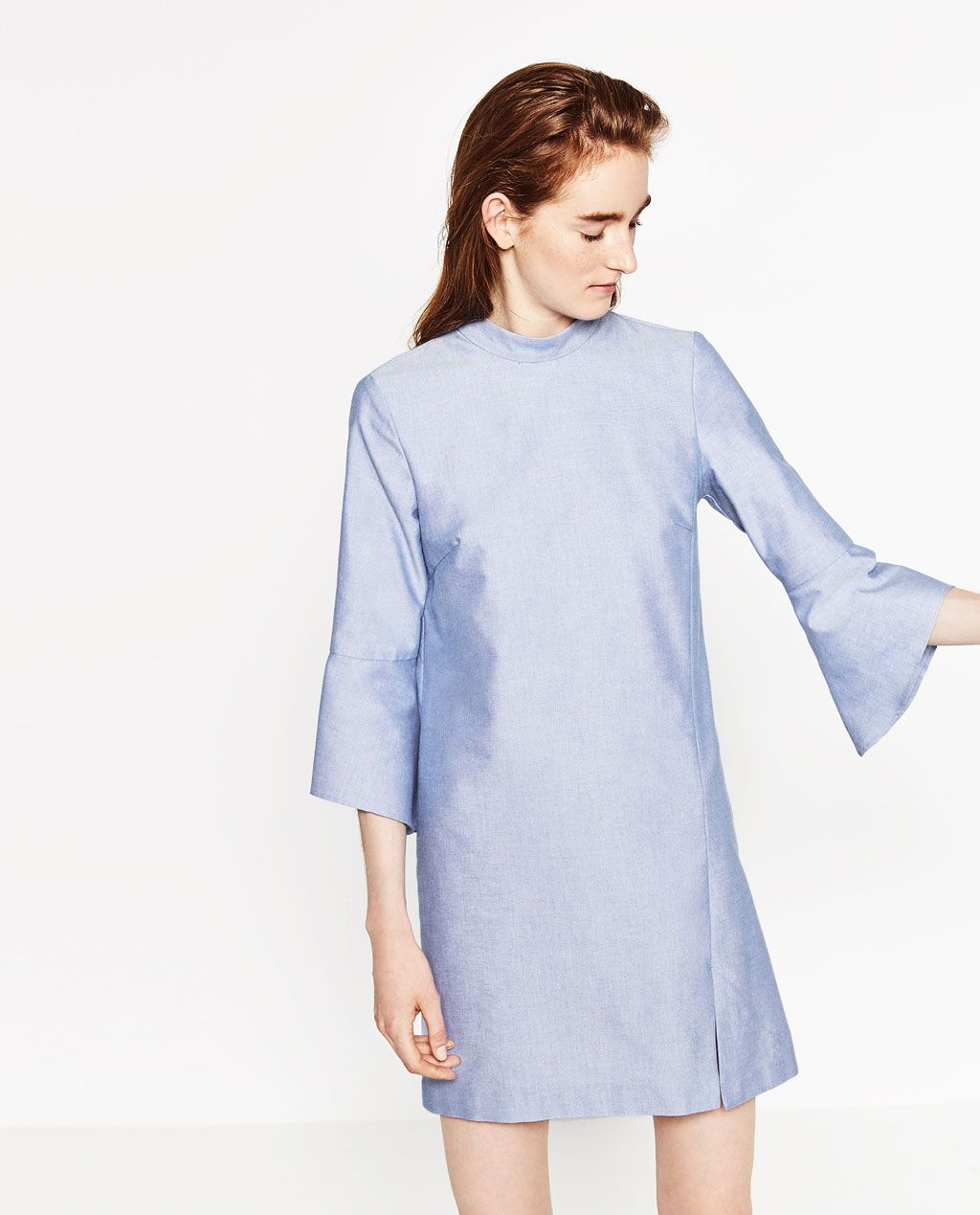 542e886c Image 2 of FLOUNCE SLEEVE DRESS from Zara | Fashion | Dresses with ...