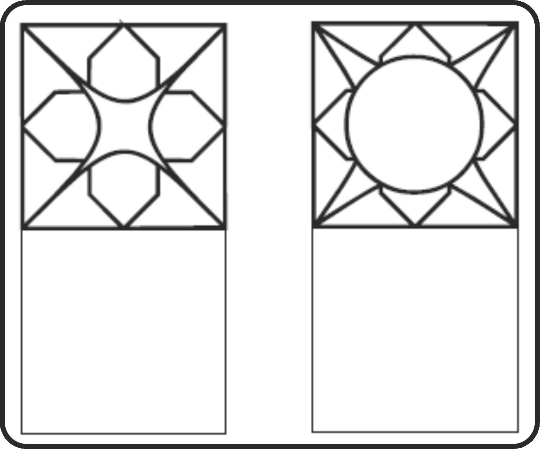 Geometrische Formen nachzeichnen - | School