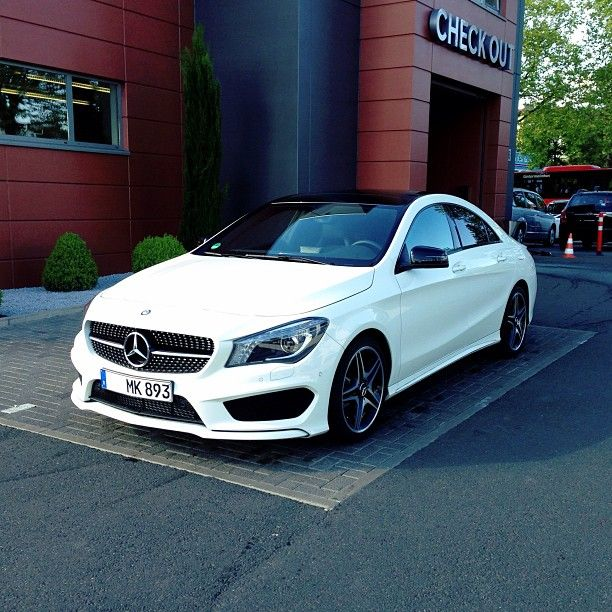 Cla 220 Cdi Amg Line With Night Package With Images Mercedes