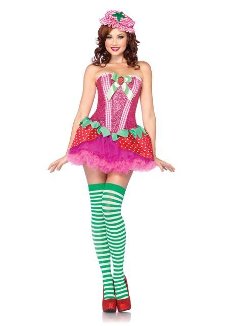 Strawberry Sweetie Womens Costume Women\u0027s Costumes Pinterest - slutty halloween costume ideas