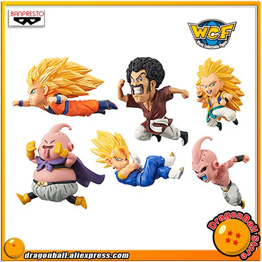 Dragon Ball GT WCF World Collectable Figure vol.1 set of 6 Complete Banpresto