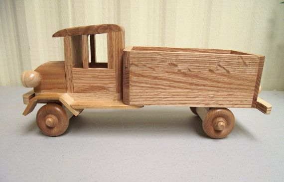 Reclaimed Wood Truck Eco Friendly Wooden Toy Car For