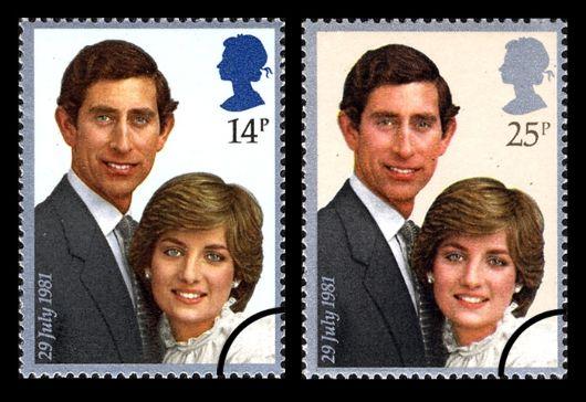 Royal Wedding Stamps
