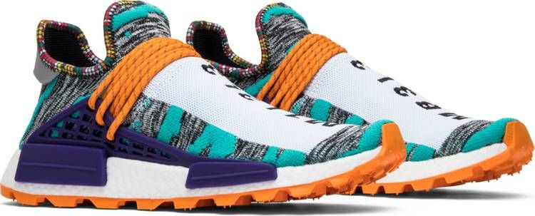 Pharrell x NMD Human Race Trail 'Solar Pack' Sneakers, Achetez  Sneakers, Buy