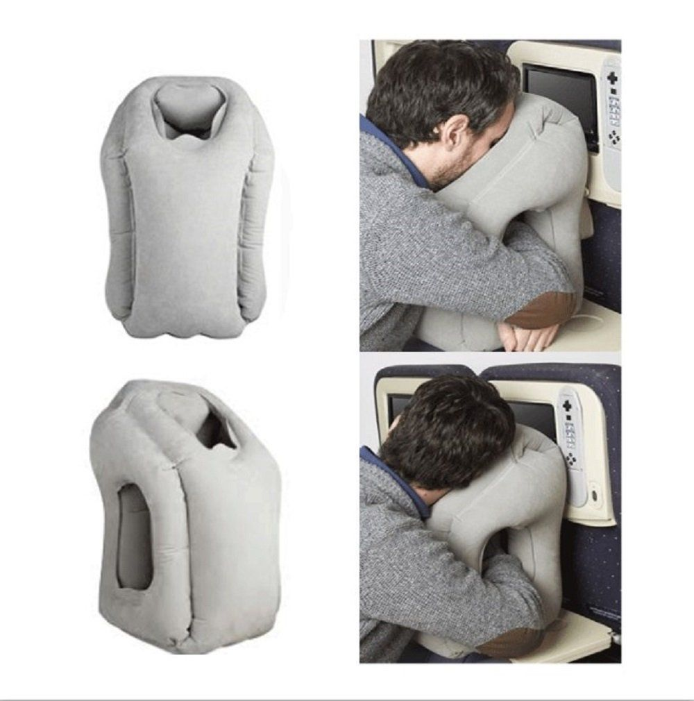 Inflatable Travel Pillow Multi Functional Air Cushion