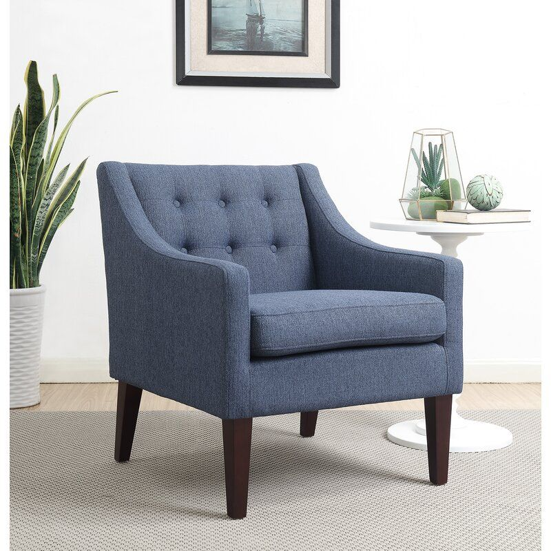 Best Clopton 22 Armchair In 2020 Blue Accent Chairs 400 x 300