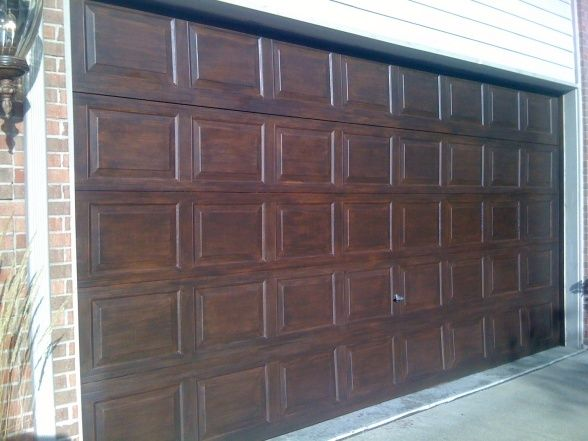 Pin By Jamey Joseph On For The Home Faux Wood Garage