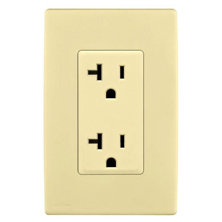 Face Plate For 20a Receptacle Wallplate Not Included In Corn