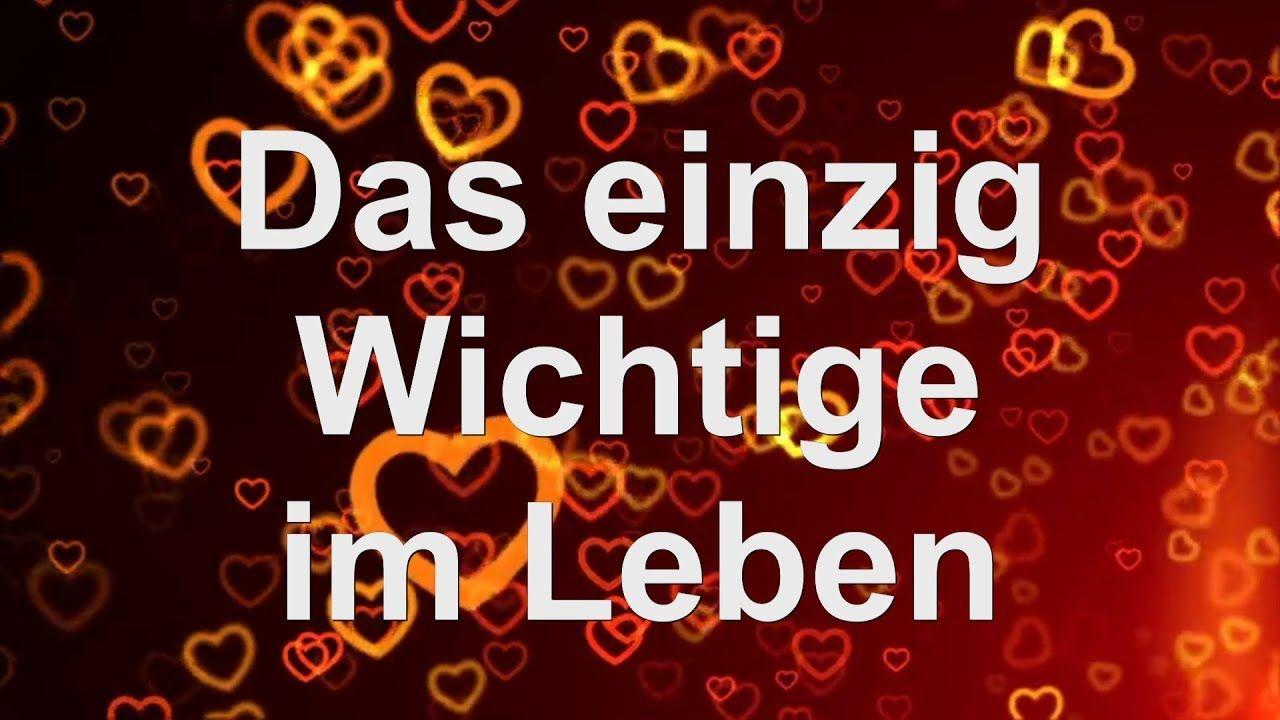 Liebe ist...  Das einzig Wichtige im Leben......Schatz: ICH LIEBE DICH   Du & Ich