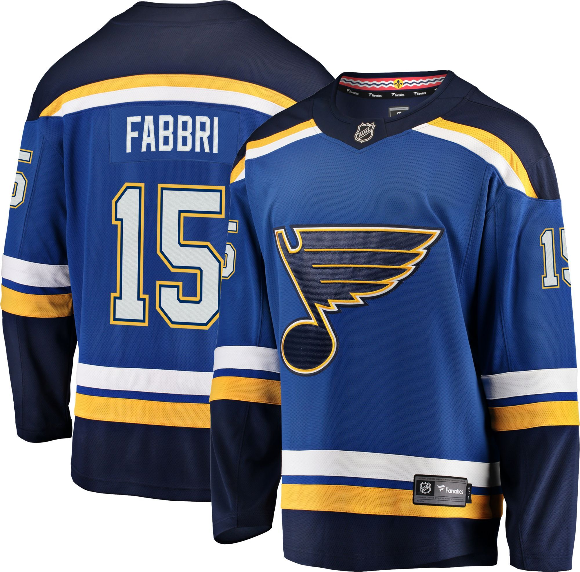 look out for big discount the best attitude NHL Men's St. Louis Blues Robby Fabbri #15 Breakaway Home Replica ...