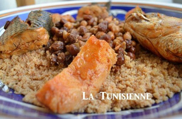 Couscous mulet coing cuisine marocaine africaine - Specialite africaine cuisine ...