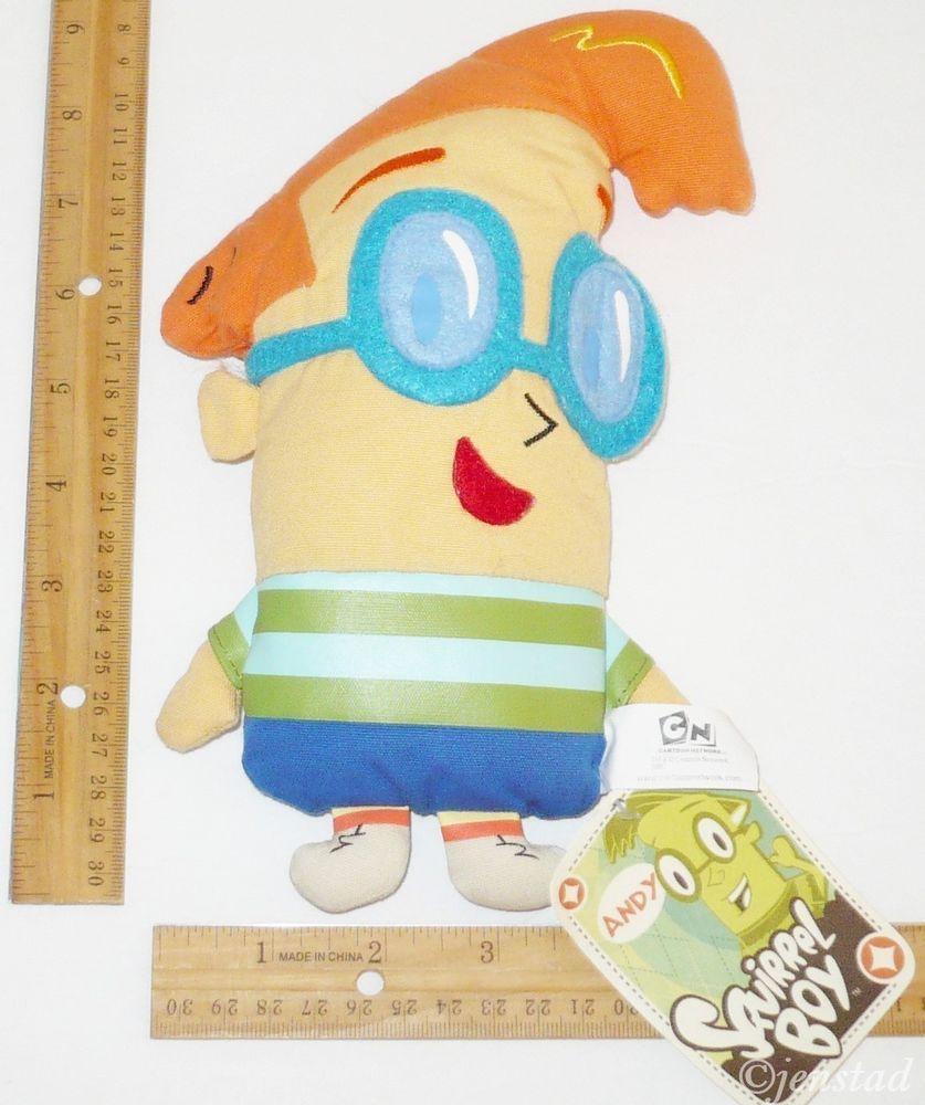 Andy Squirrel Boy Canvas Stuffed Animal 8 5 Plush Toy Cartoon