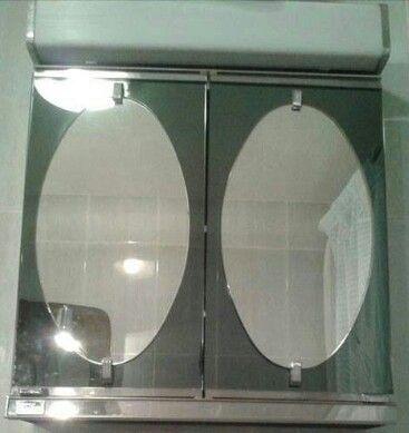 Armario de baño (con imágenes) | Espejos para baños ...